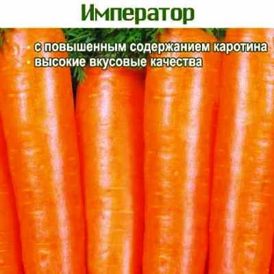Купить Морковь Император в пакетах