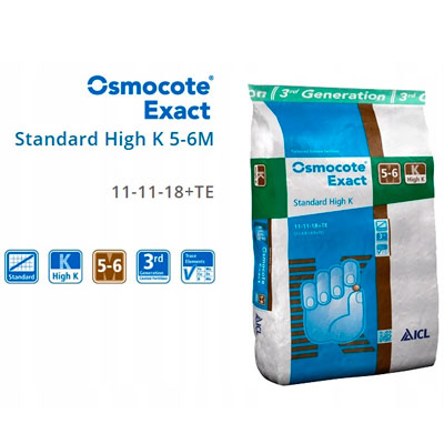 Купить Осмокот удобрение Exact Standard High K (11-11-18+мэ) 5-6 мес 100 г